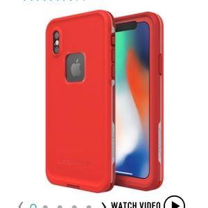 Lifeproof FRĒ FOR iPHONE X Fire Run waterproof